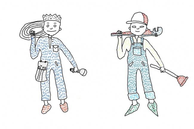 Быстро нарисую веселые иллюстрации 43 - kwork.ru