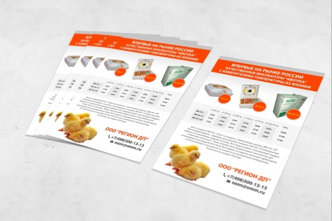 Создам дизайн коммерческого предложения 50 - kwork.ru