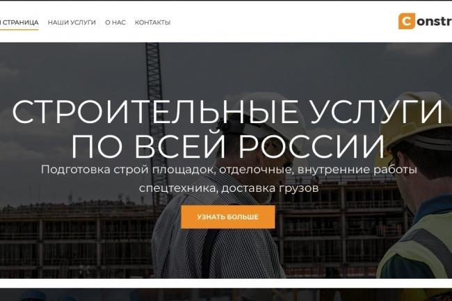 Сайт на WordPress, установка шаблона, настройка 2 - kwork.ru