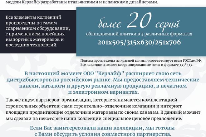 Создам дизайн коммерческого предложения 17 - kwork.ru