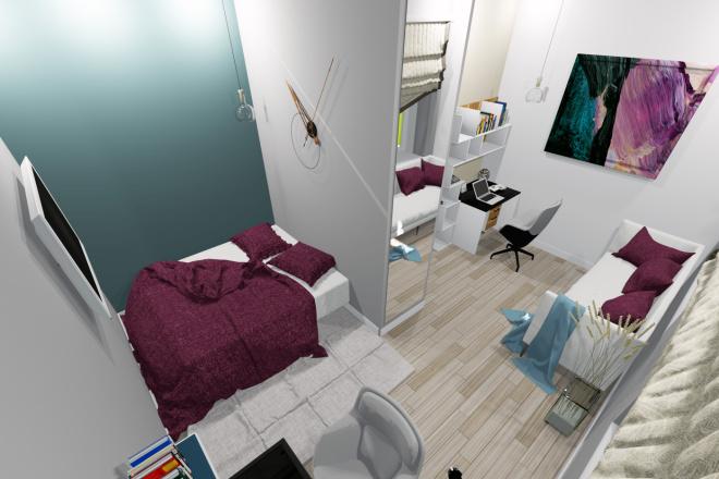 3d визуализация квартир и домов 11 - kwork.ru