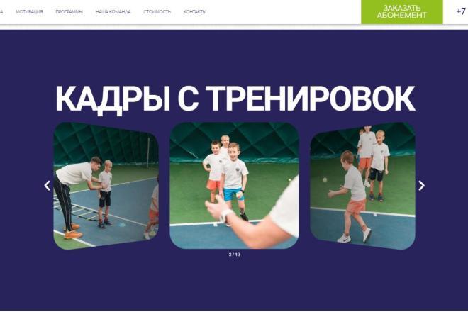 Лендинг для любых целей на Wordpress 6 - kwork.ru