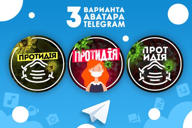 Оформление Telegram 22 - kwork.ru