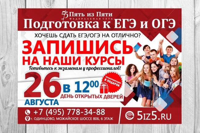 Дизайн плакаты, афиши, постер 71 - kwork.ru