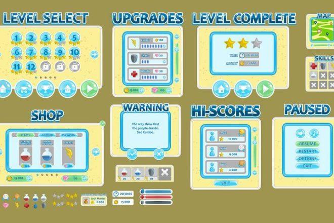 Готовые 2D Assets для Unity, 2D Анимации 13 - kwork.ru