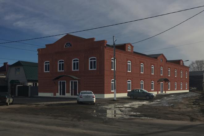 Визуализация экстерьера, фасадов здания 14 - kwork.ru
