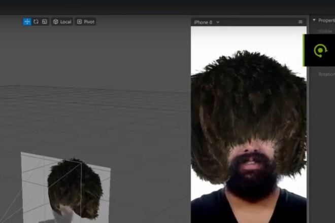 Маски для Инстаграм Эксклюзивные 3Д эффекты Instagram 3D FaceBook VK 1 - kwork.ru