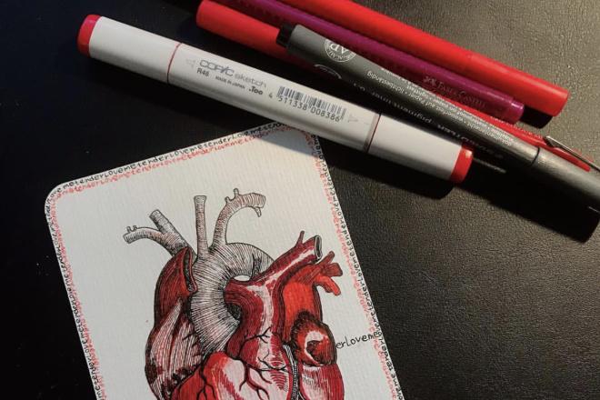Нарисую любую открытку в диджитал формате или вручную 3 - kwork.ru