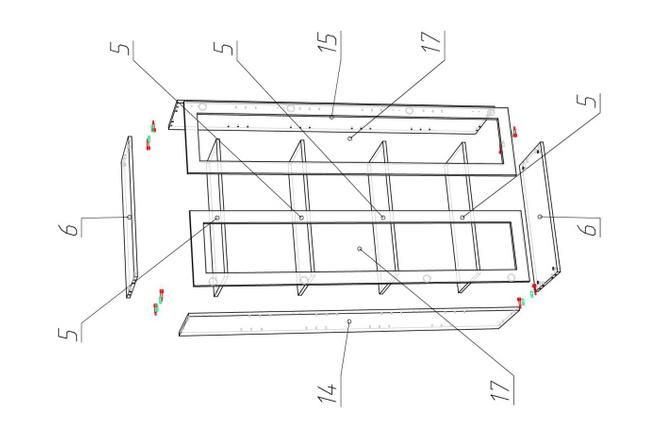 Проект корпусной мебели, кухни. Визуализация мебели 62 - kwork.ru