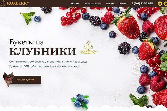 Перенос из Psd на Tilda. Адаптивная верстка 2 - kwork.ru