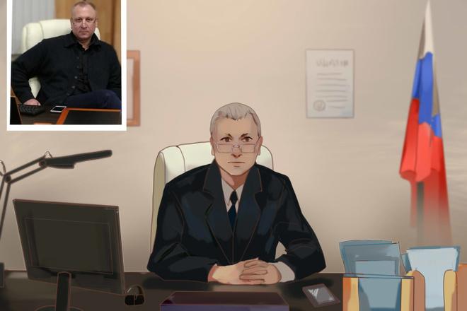 Создам ваш портрет в стиле аниме 11 - kwork.ru