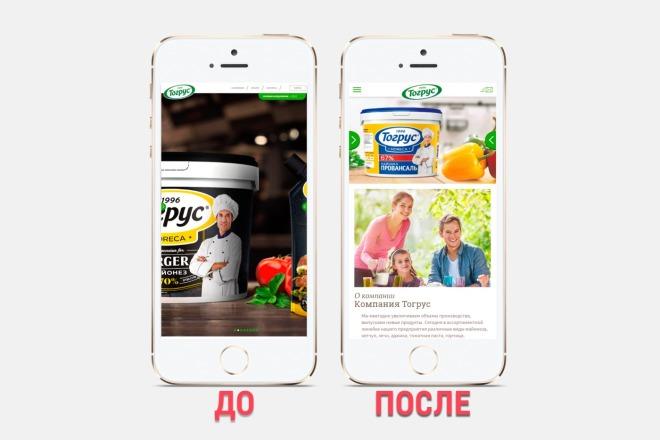 Адаптация сайта под все разрешения экранов и мобильные устройства 29 - kwork.ru