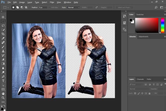 Уберу фон с фото,  замена фона на фото 1 - kwork.ru