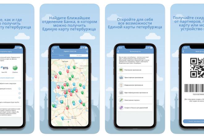 Разработка Android приложений. 1 экран 4 - kwork.ru