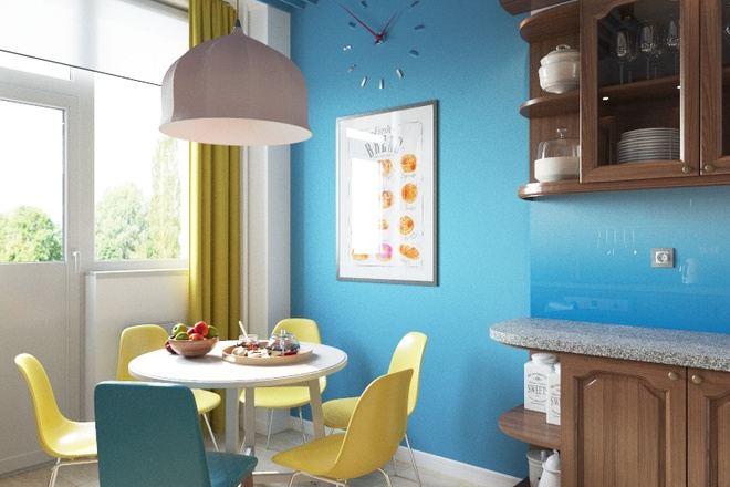 500 идей использования деревянных реек, баффели в интерьере 10 - kwork.ru