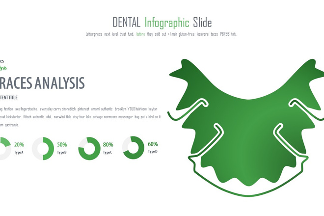 Инфографика на медицинскую тему. Шаблоны PowerPoint 14 - kwork.ru