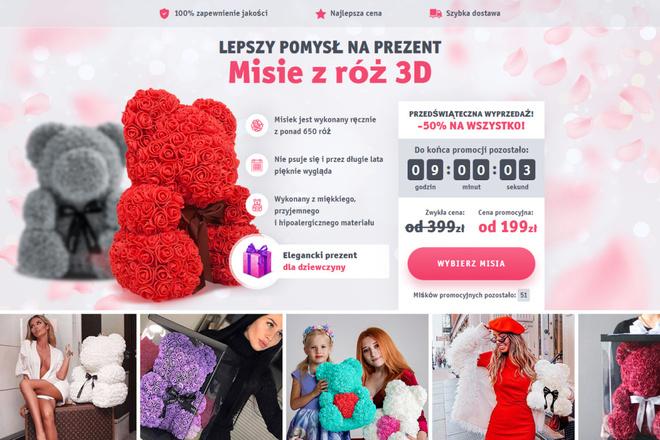 Копия сайта, landing page + админка и настройка форм на почту 4 - kwork.ru