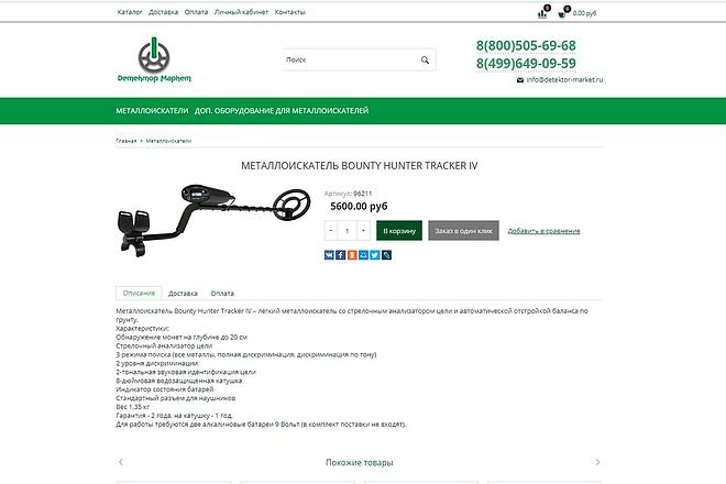 Профессионально создам интернет-магазин на insales + 20 дней бесплатно 40 - kwork.ru