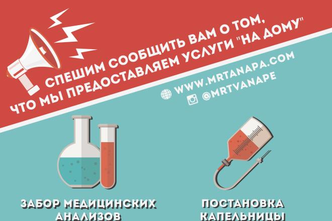 Баннер для печати в любом размере 8 - kwork.ru