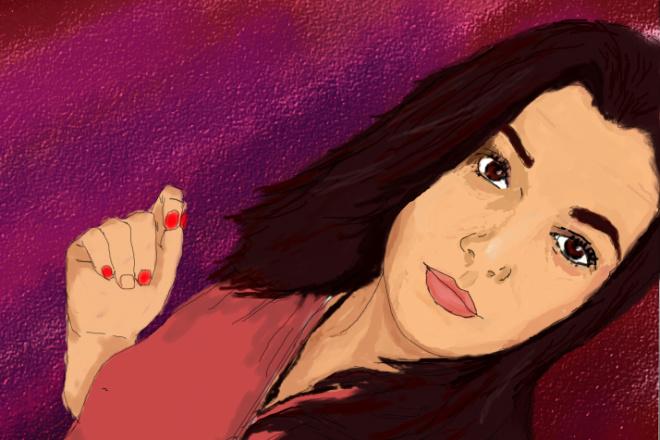 Нарисую портрет по фотографии 5 - kwork.ru