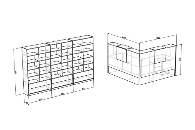 Визуализация мебели, предметная, в интерьере 35 - kwork.ru