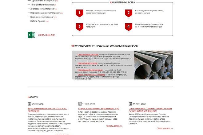 Интеграция верстки или правка на HostCMS 18 - kwork.ru