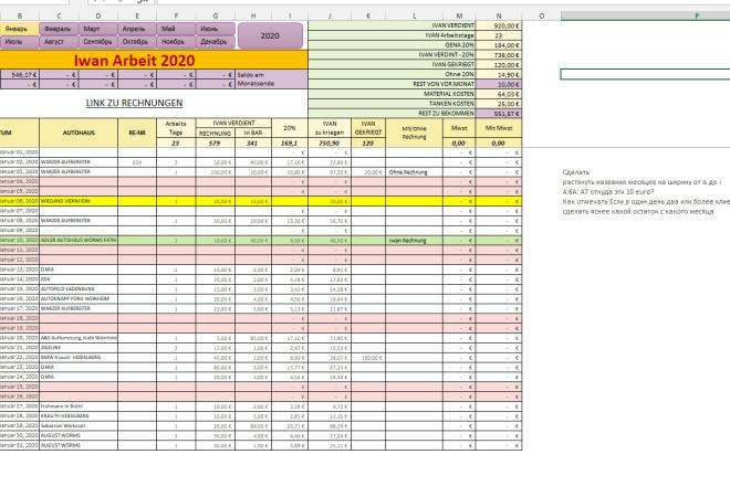 Excel формулы, сводные таблицы, макросы 21 - kwork.ru