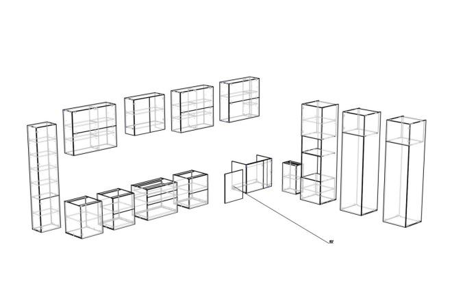 Конструкторская документация для изготовления мебели 40 - kwork.ru