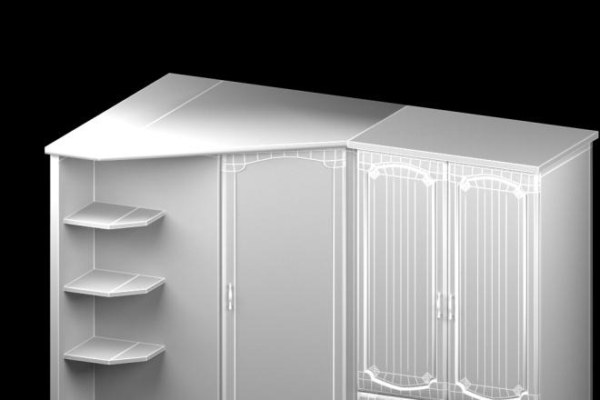 Создам трехмерную модель в формате OBJ 17 - kwork.ru