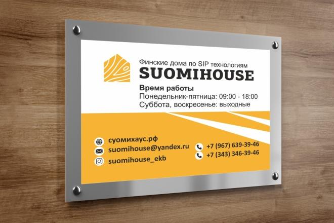 Дизайн для наружной рекламы 3 - kwork.ru