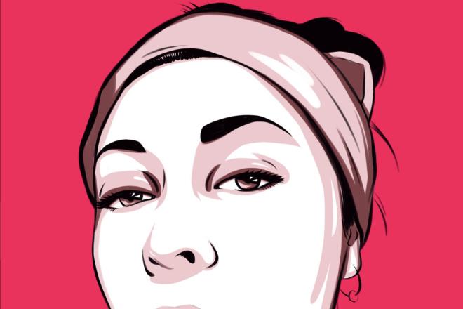 Нарисую портрет в стиле Pop Art,Comics Art, Stik Art 7 - kwork.ru