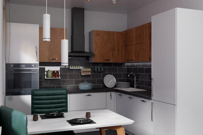 Дизайн-проект кухни. 3 варианта 20 - kwork.ru