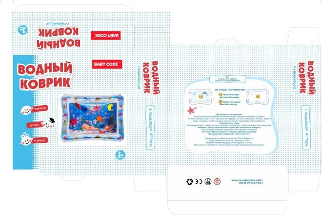 Создам дизайн простой коробки, упаковки 7 - kwork.ru