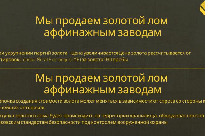 Стильный дизайн презентации 278 - kwork.ru