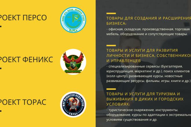 Стильный дизайн презентации 82 - kwork.ru