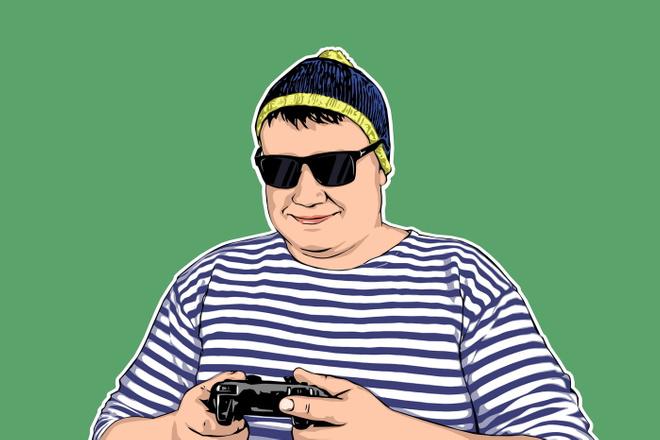 Качественный поп-арт портрет по вашей фотографии 25 - kwork.ru