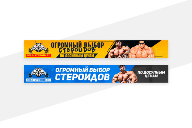 2 баннера для сайта 91 - kwork.ru