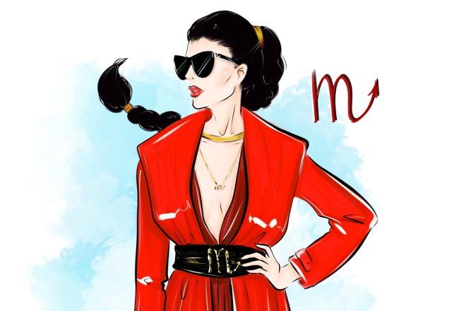Создам fashion иллюстрацию 6 - kwork.ru