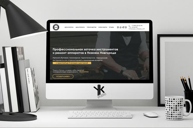 Лендинг под ключ, крутой и стильный дизайн 30 - kwork.ru