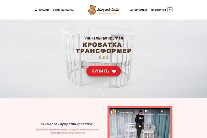 Создание готового интернет-магазина на Вордпресс WooCommerce с оплатой 11 - kwork.ru