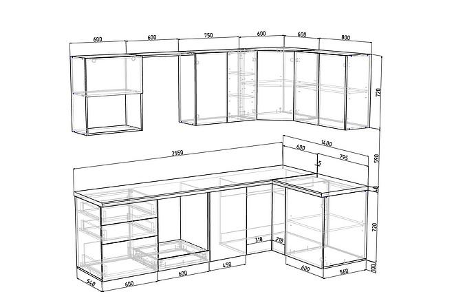 Конструкторская документация для изготовления мебели 95 - kwork.ru