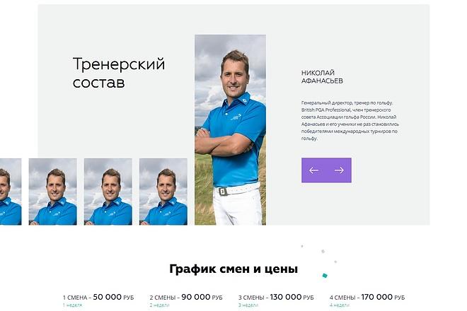 Сайт под ключ. Landing Page. Backend 187 - kwork.ru