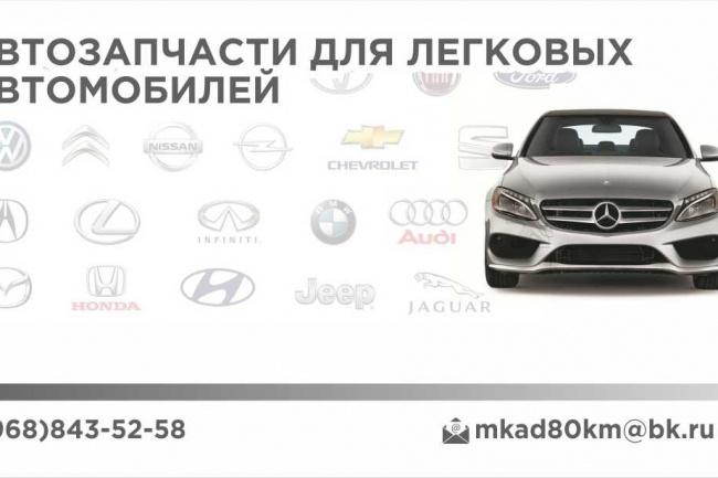 Макет визитки 29 - kwork.ru