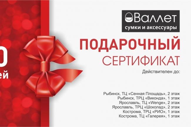 Макет визитки 28 - kwork.ru