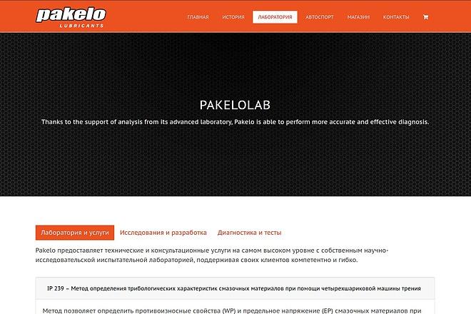 Создание сайта-визитки на WordPress 2 - kwork.ru