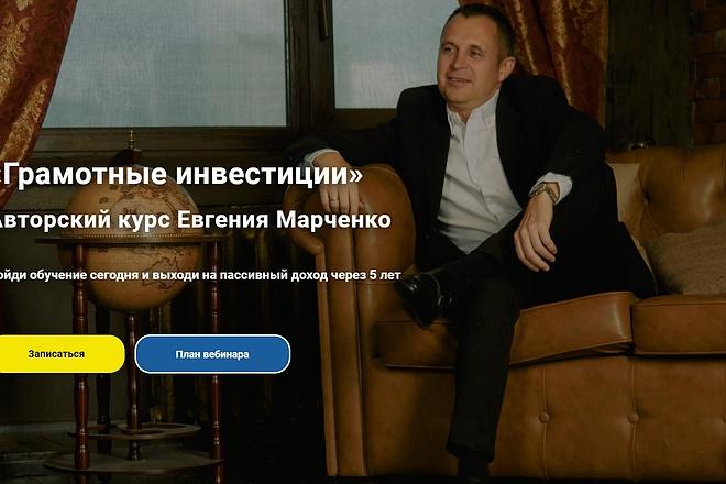 Создание сайта - Landing Page на Тильде 94 - kwork.ru
