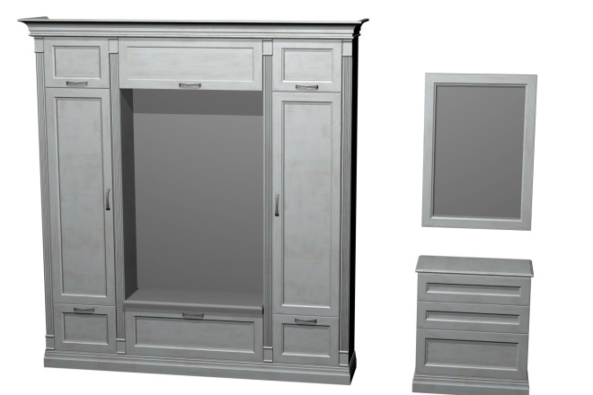 Проект корпусной мебели, кухни. Визуализация мебели 34 - kwork.ru