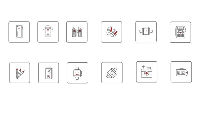 Нарисую векторные иконки для сайта, соц. сетей, приложения 12 - kwork.ru