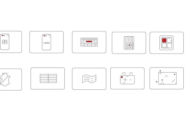 Нарисую векторные иконки для сайта, соц. сетей, приложения 10 - kwork.ru