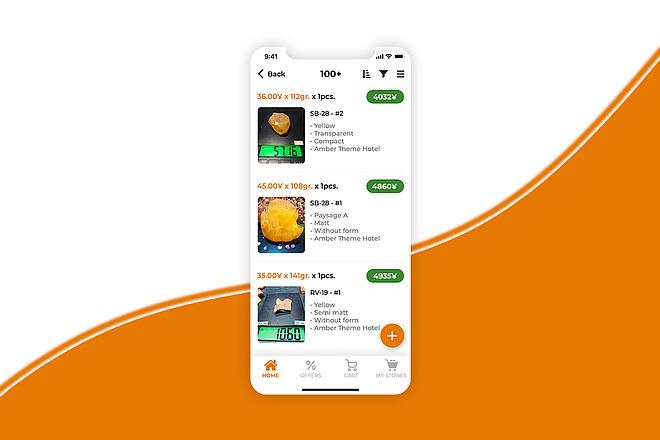 Дизайн android, ios мобильного приложения 10 - kwork.ru